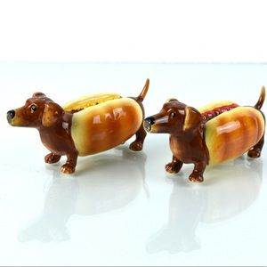 Westland Giftware Hot Diggity Salt/Pepper Shakers
